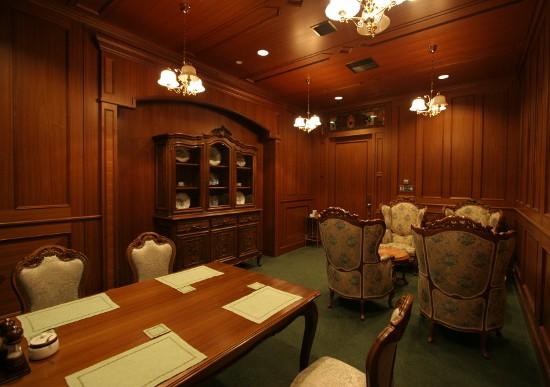 レストランの特別室、VIPルームのご紹介